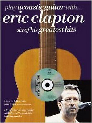 Play Acoustic Guitar With... Eric Clapton, Very Good,  Book