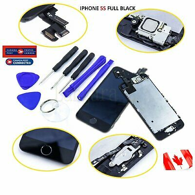 LCD Replacement  Screen Display Digitizer Full Assembly For Black iPhone 5S New