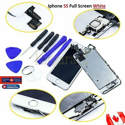 For Apple White iPhone 5S LCD Replacement Screen Display Digitizer Full Assembly