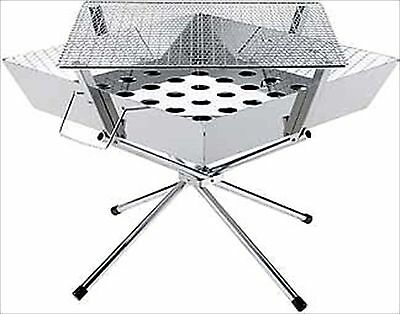 UNIFLAME Fire Grill Large Stainless BBQ Fire Grill No.683071 F/S from japan