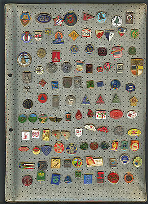 YUGOSLAVIA - LOT/SET of 100+ Pin Badges (Red Cross/Sport Clubs/Enterprises...)#2
