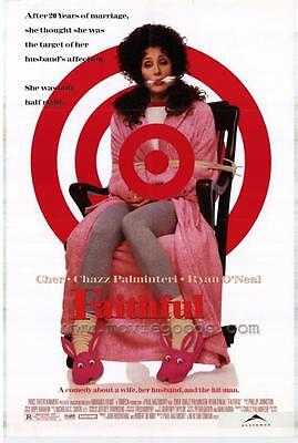 Faithful (1996) Original Movie Poster 27x40 Cher