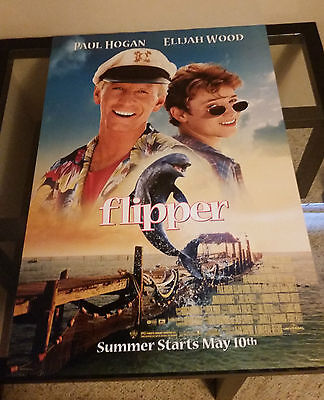 Flipper Original Movie Poster 27x40 (1996) Double Sided