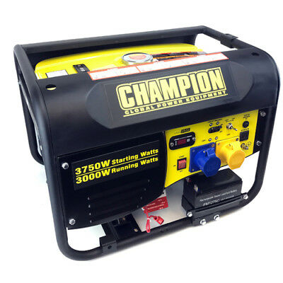 Champion CPG4000E1 3.75kVA Portable Petrol Generator with Electric Start