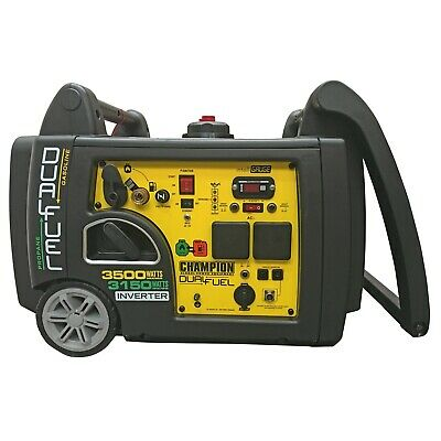 Petrol Generator Champion CPG73001i-DF Dual Fuel 3.1kVA with Recoil Start