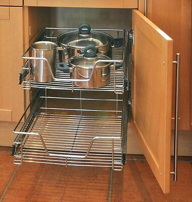 """Telescopic drawer 50 cm with Extractable Kitchen cabinets 1 Piece """"Top Quality"""""""