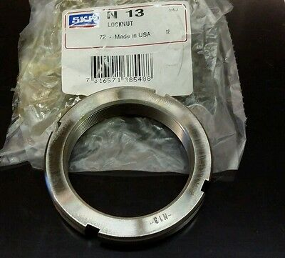 SKF N13 Locknut NEW