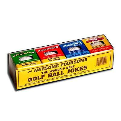 The Awesome Foursome - The Worlds Best Golf Trick Golf Balls