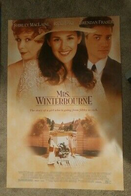 Mrs. Winterbourne (1996) Original Movie Poster 27x40 Double Sided Mint