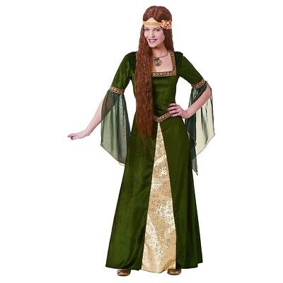 Renaissance Costume Adult Medieval Lady Game of Thrones Halloween Fancy Dress