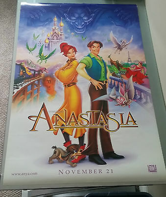 Anastasia Original Movie Poster 27x40 Animation Double Sided