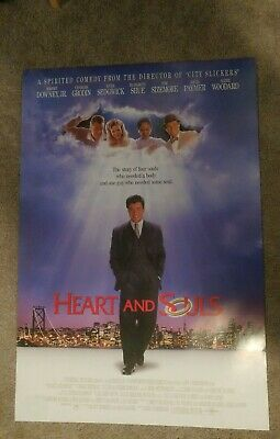 Heart and Souls Original Movie Poster 27x40