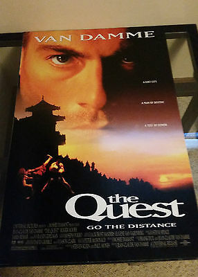 The Quest Original Movie Poster 27x40 (1996) Double Sided Jean Claude Van Damme