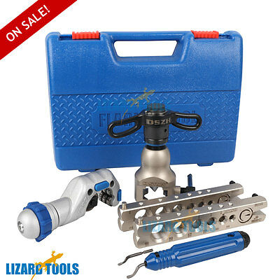 Genuine Ratchet Flaring Flare Tool Kit R410A Refrigeration Eccentric Cone T0225