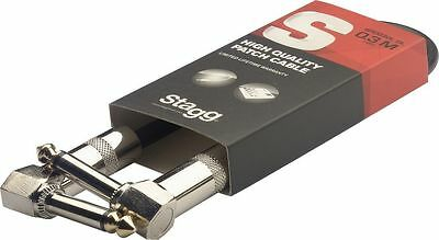 Stagg Patch Cable For Guitar Effects Pedal Board Wah Amp 10 30 60 90 cm Options