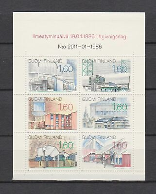A4650) FINLAND 1986 Booklet Achitecture  MNH**