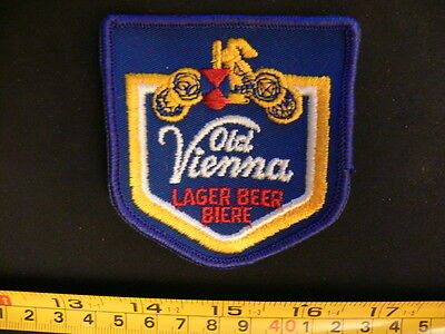 Embroidered patch OLD VIENNA OV beer very old original