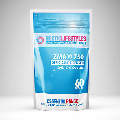 ZMA® 750mg Officially Licenced - One a day capsules with Bioperine®