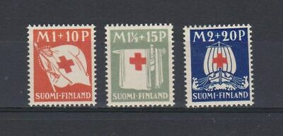 A4657) FINLAND 1930, Red Cross 3v  MNH**