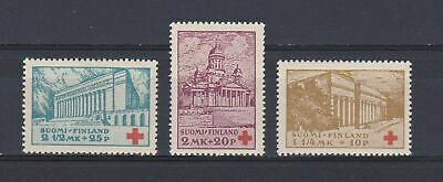 A4658) FINLAND 1932 Scott#B9-11 Red Cross  MNH**