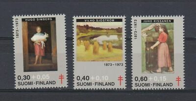 A4666) FINLAND 1973 Paintings - Red Cross  MNH** 3V
