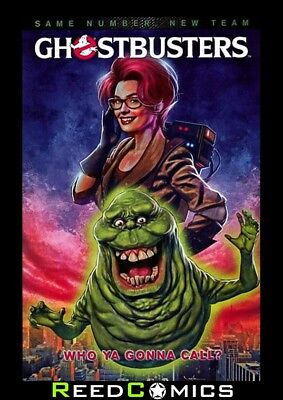 GHOSTBUSTERS WHO YA GONNA CALL GRAPHIC NOVEL New Paperback