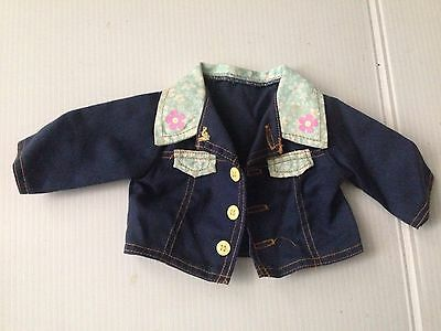 "My Size Barbie Toddler 16"" Doll Kelly Denim Jacket Clothes"