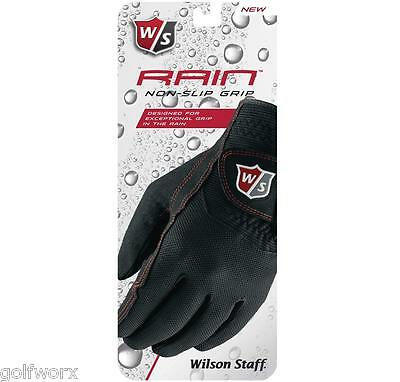 New All Sizes Wilson Rain Non Slip 2017 Golf Gloves (Pair)