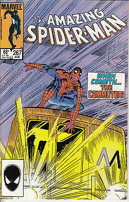 AMAZING SPIDERMAN 267...NM-...1985...The Commuter!...Bargain!