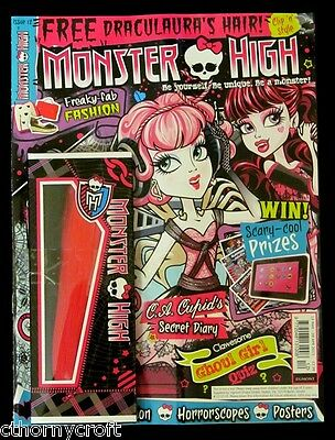 MONSTER HIGH Magazine 2013 #12 + Draculaura's Hair