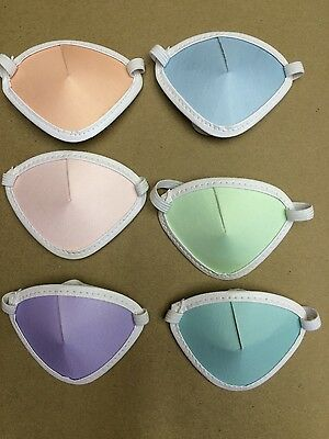 Eyepatches Adult Pastel, 6pk