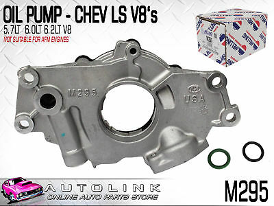 Melling M295 Oil Pump Suit Holden Commodore Vz Ve Vf V8 Gen3 & 6.0L Gen4 L76 L77