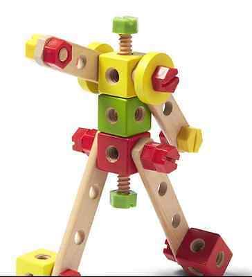 Imaginarium Nuts and Bolts 115 Pieces Building Tinker Toy Toddler Construction