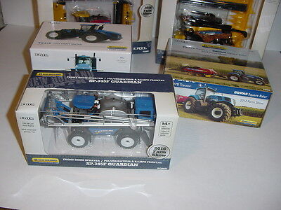 1/64 New Holland Farm Show Edition Set 2011 to 2014, 2016 NIB! Great Price!