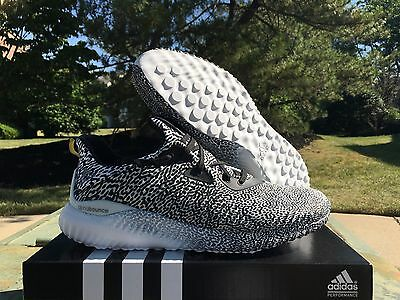 Adidas Alphabounce Shoes, Core Black/Iron Metallic, Size 9.5, Brand new in box