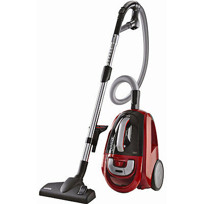 Nilfisk Meteor Deluxe Red Bagless 2200W Vacuum Cleaner with HEPA filter 12404911