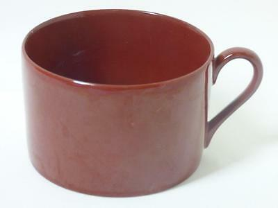 """Fitz & Floyd Calla Lily Flat Coffee Tea Cup 2-1/8"""" Totally Red"""