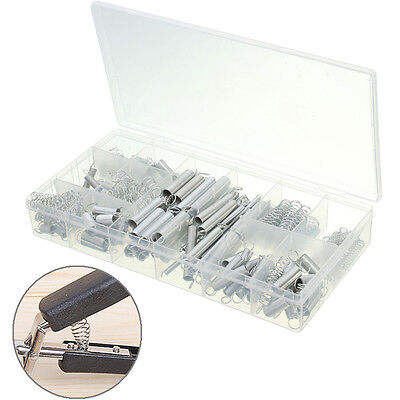 200Pcs Hardware Spring Assortment Kit Compression Extension Mixed Set With Case