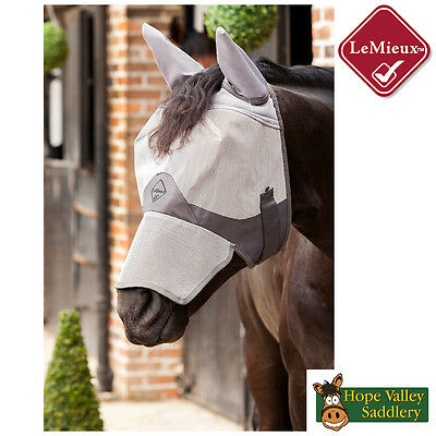 Lemieux Comfort Shield Full Fly Mask (Nose and Ears) **BNWT**