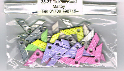 Corners Approx 20 Pastel Corners Quicklets/eyelets - No Setter Needed
