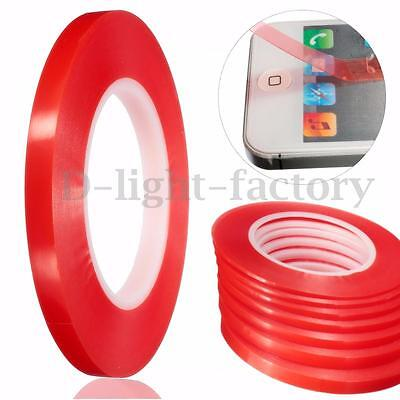 50M Adhesive Double Side Tape Strong Sticky Tape For Mobile Phone Repair 2-10mm