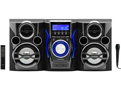 Stereoanlage CD MP3 USB Bluetooth Hi-Fi Design Kompaktanlage Musikanlage Radio