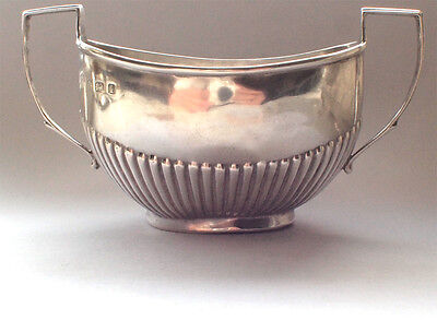 Vintage 925 Solid Sterling Silver Sugar Bonbon Serving Dish Cube 1908 Hallmarked