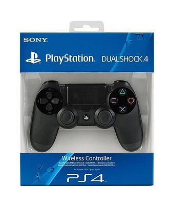 Sony PlayStation DualShock 4 Controller - Jet Black (PS4) BRAND NEW FREE P&P