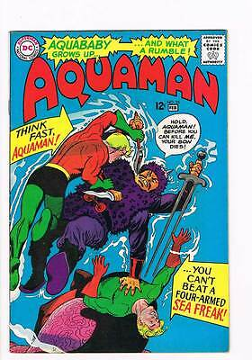 Aquaman # 25  The Revolt of Aquaboy ! grade 8.0 scarce book !!