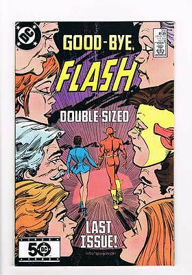 Flash # 350  Double-Sized Last Issue !  grade 9.0 scarce book !