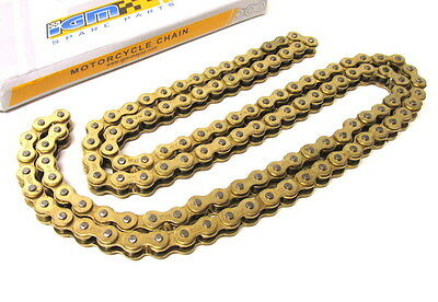 Puch Maxi X30 X50 Mofa Moped Kette Gold 415 / 130 Glieder Mofakette Mopedkette