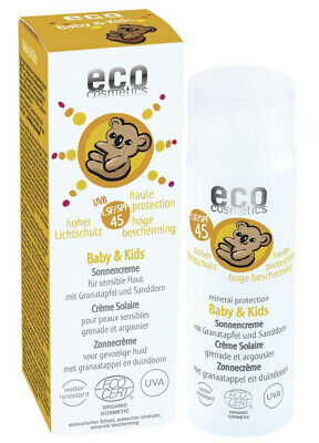 (27,24 €/100ml) eco cosmetics Baby & Kids Sonnencreme LSF 45 (50ml) - Kinder
