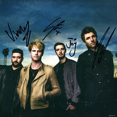 "Kodaline – Coming Up For Air 12"" Vinyl LP NEW and SIGNED Autographed"