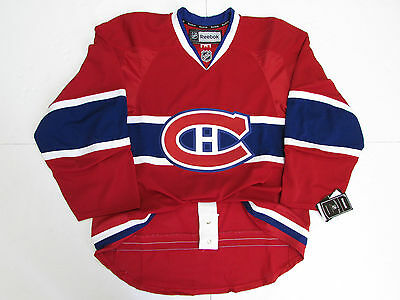 Montreal Canadiens Authentic Home Reebok Edge 2.0 7287 Hockey Jersey